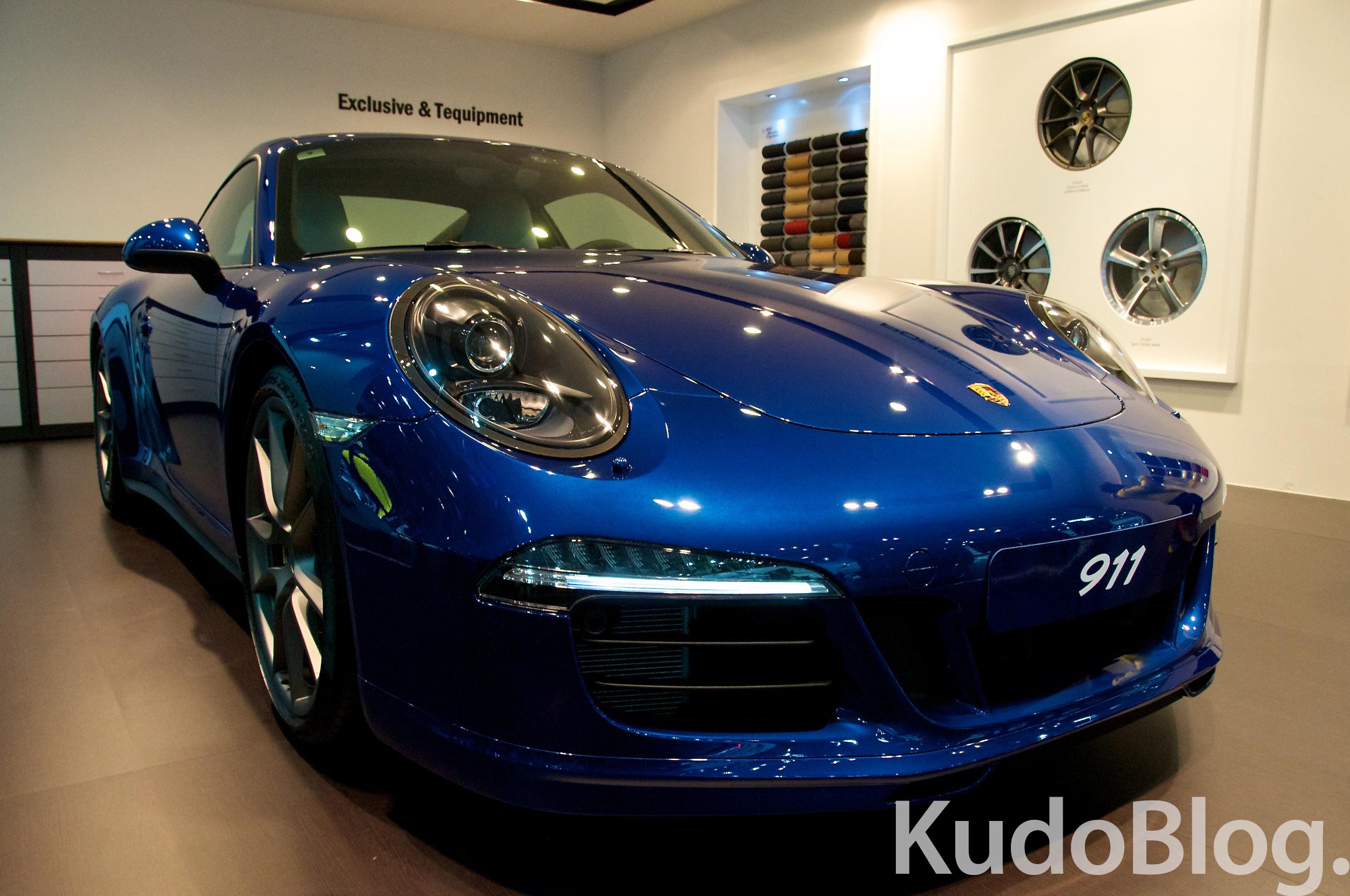 [서울 모터쇼 2013] Porsche 911 Carrera 4S