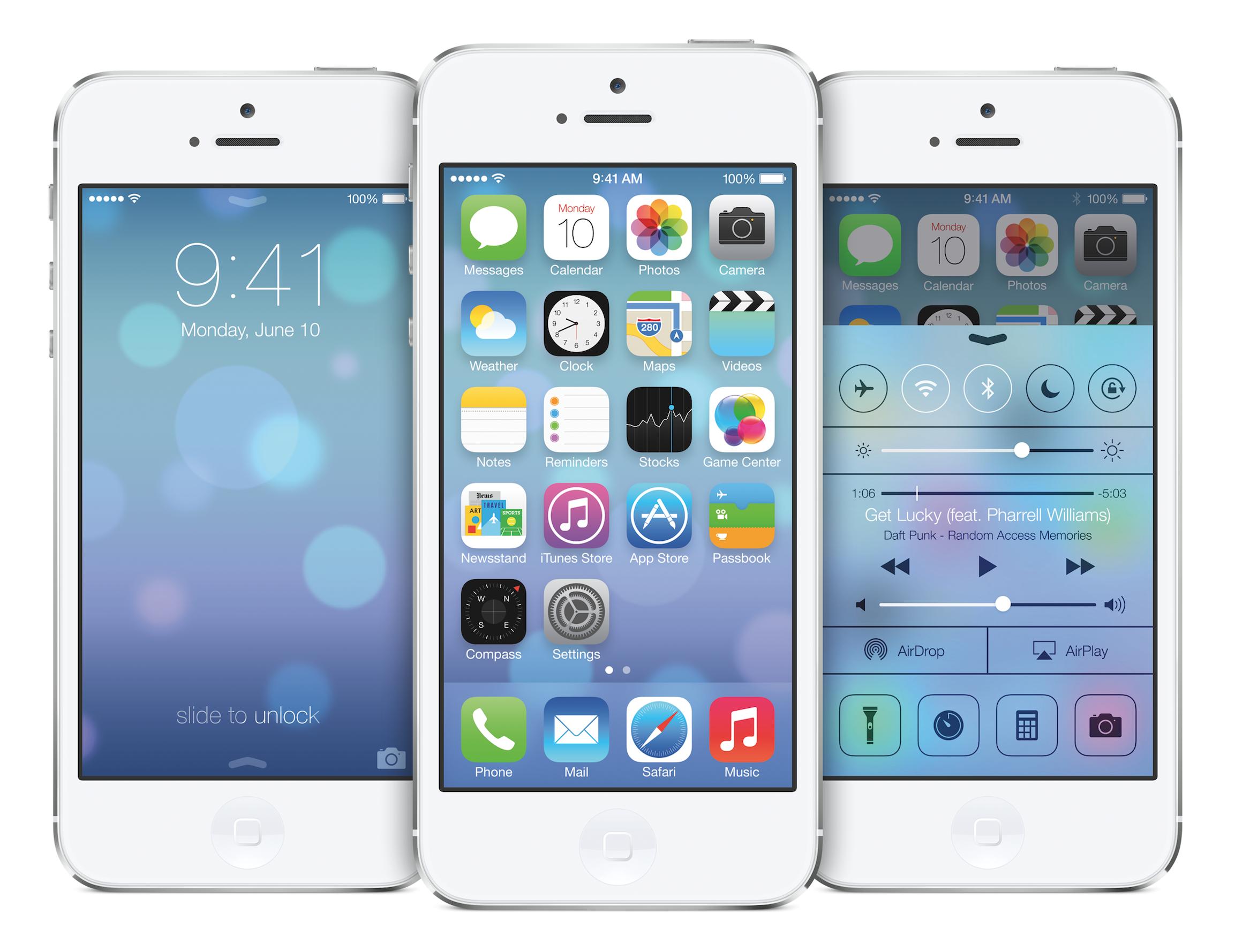 iOS 7: 애플의 소프트웨어 디자인 리셋