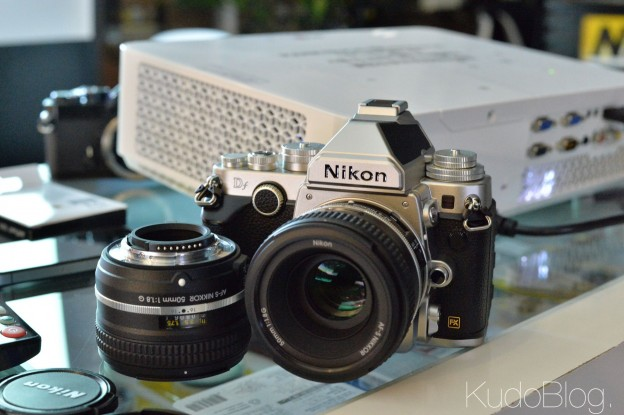 KudoTouch: Nikon Df
