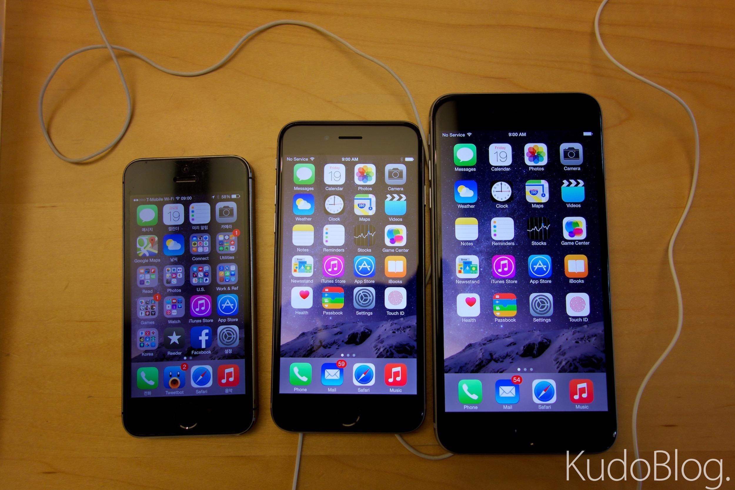 [KudoTouch] 애플 아이폰 6 & 아이폰 6 플러스