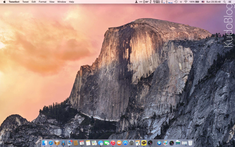 [KudoReview] 애플 OS X 요세미티