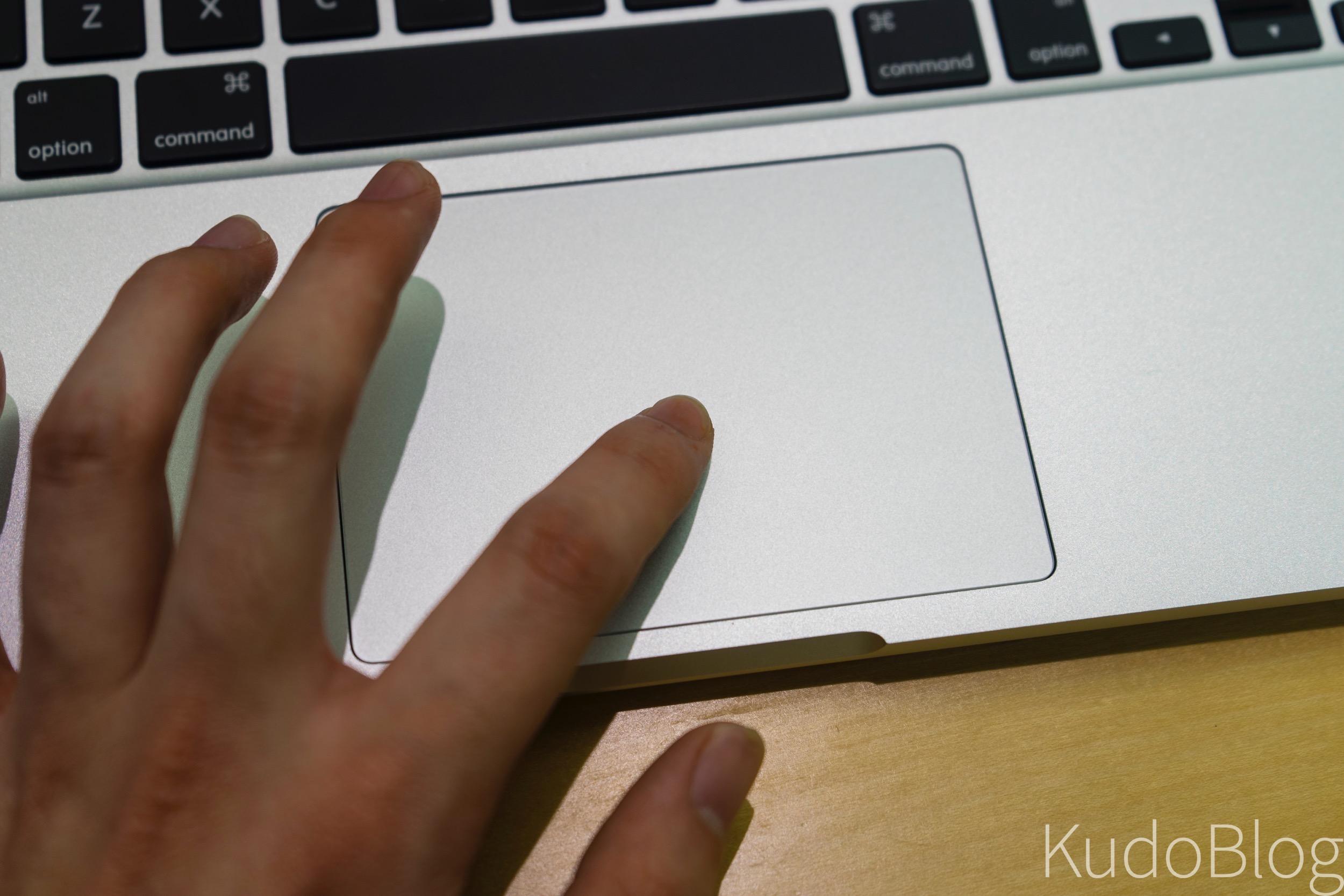 [KudoTouch] 애플 포스 터치 트랙패드