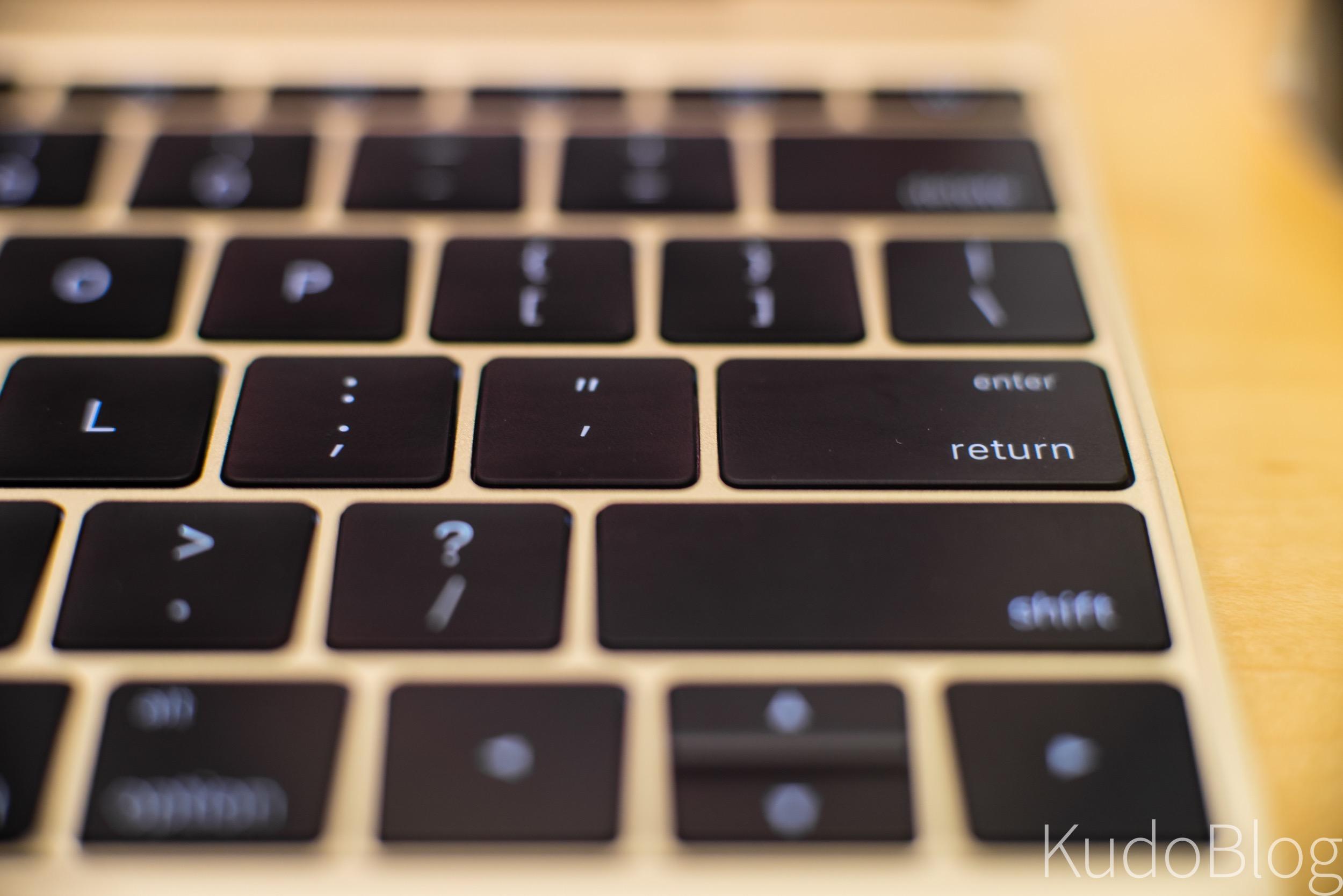 [KudoTouch] 애플 맥북 (2015)